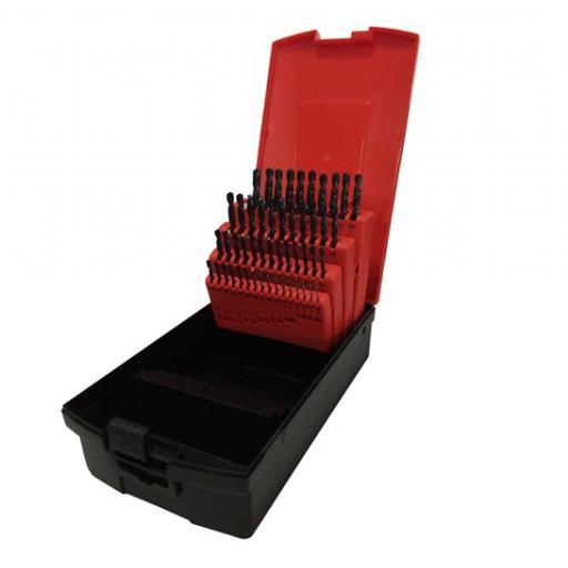 OSBORN JOBBER DRILL SET 1mm - 5.9mm 50 DRILLS IN TOTAL HSS M2 820801SET3