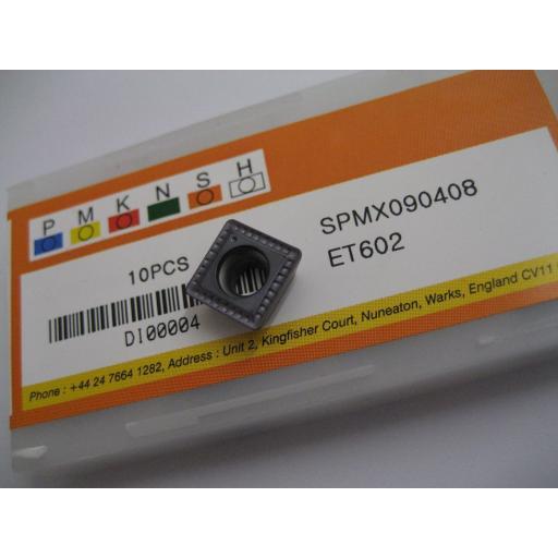 SPMX090408 ET602 SOLID CARBIDE SPMX U-DRILL DRILLING INSERTS EUROPA TOOL