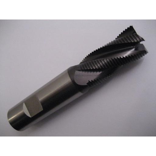 25mm CARBIDE FINE PITCH RIPPA END MILL TiALN COATED EUROPA TOOL 1181232500
