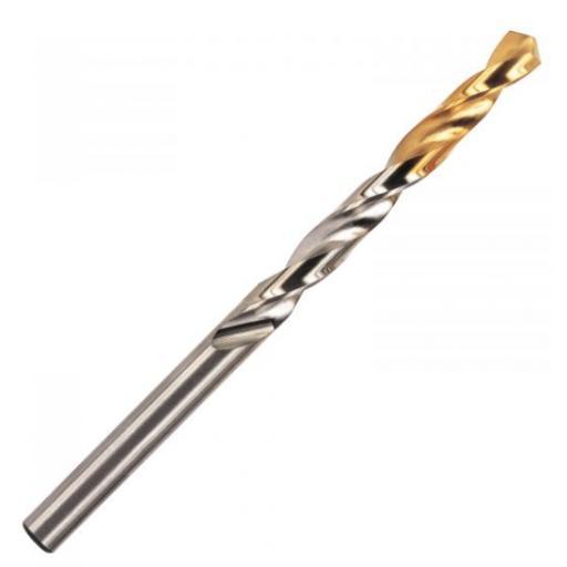 10.2mm JOBBER DRILL BIT TiN COATED HSS M2 EUROPA TOOL OSBORN 8105041020