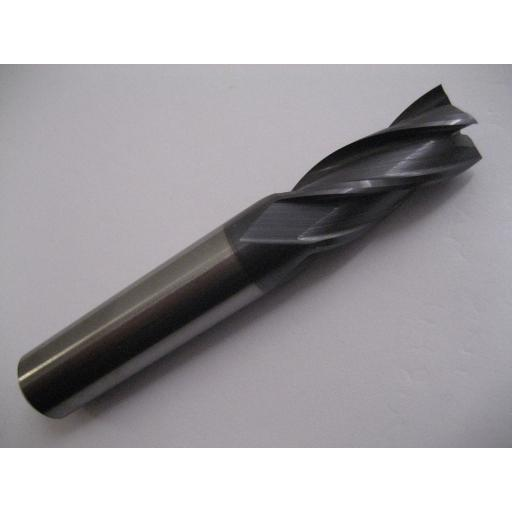 25mm SOLID CARBIDE 4 FLUTED TiALN COATED END MILL EUROPA TOOL 3103232500