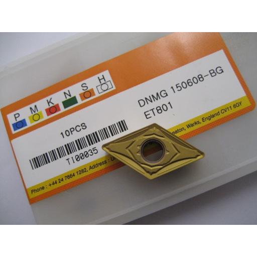 DNMG150608-BG (DNMG 442-BG) ET801 CARBIDE TURNING INSERTS EUROPA TOOL