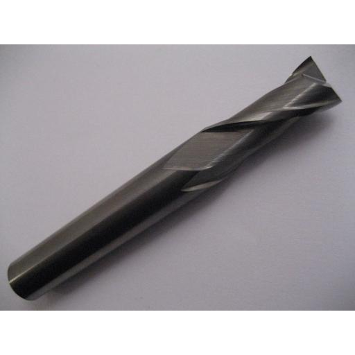 2.5mm CARBIDE SLOT DRILL MILL 2 FLUTED EUROPA TOOL 3013030250